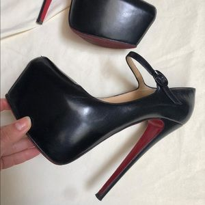 Christian Louboutin - Mary Jane Red Bottoms